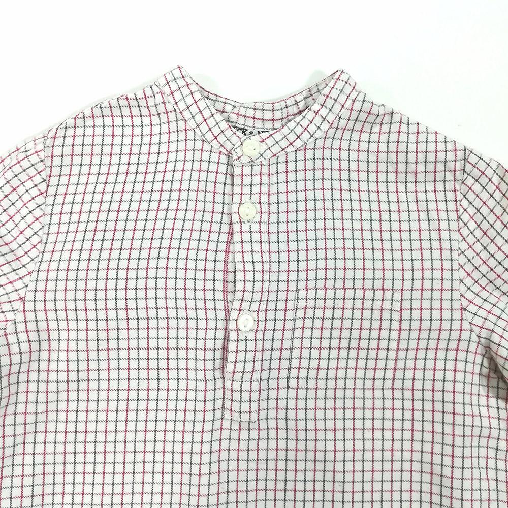 3f305c77948 Camisa de vestir para niño diseño a cuadros Marca Neck   Neck ...